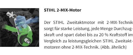 STIHL 2-MIX-Motor STIHL Benzin-Motorsäge MS 231