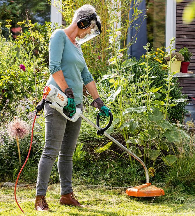 Elektro Rasentrimmer für kleine und große Gärten online kaufen