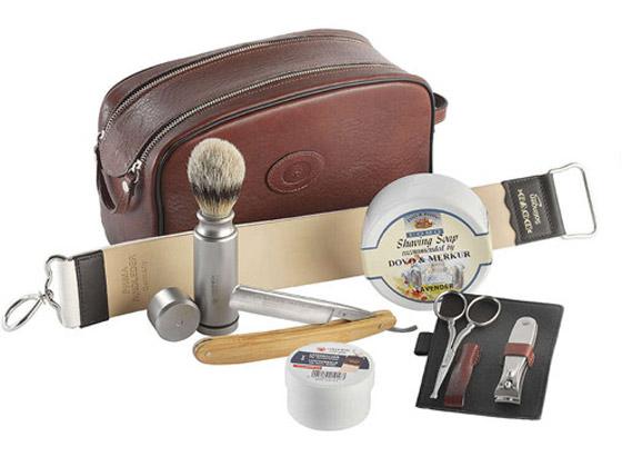 Das Rasiermesser-Bartpflegeset bietet Dir den kompletten Zubehör Umfang für die Rasieren.