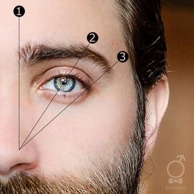 Mit diesem Trick bekommst Du perfekt gestylte Augenbrauen.