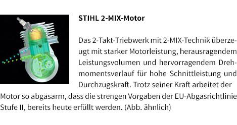 STIHL 2-MIX-Motor STIHL Benzin-Blasgerät BG 56