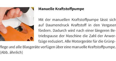 Manuelle Kraftstoffpumpe STIHL Benzin-Blasgerät BG 56
