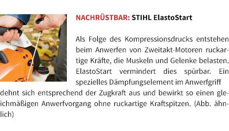 Nachrüstbar STIHL ElastoStart STIHL Benzin-Blasgerät BG 56