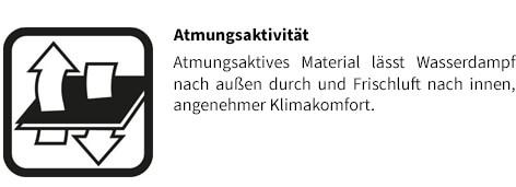 Stihl Jacke ADVANCE X-VENT Attmungsaktivität