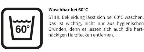Stihl Jacke ADVANCE X-VENT Waschbar bei 60°