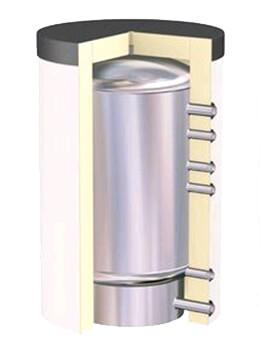 Warmwasserspeicher aus Edelstahl