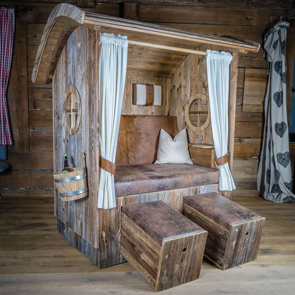 alpenkorb wildsteig altholz online kaufen. Black Bedroom Furniture Sets. Home Design Ideas