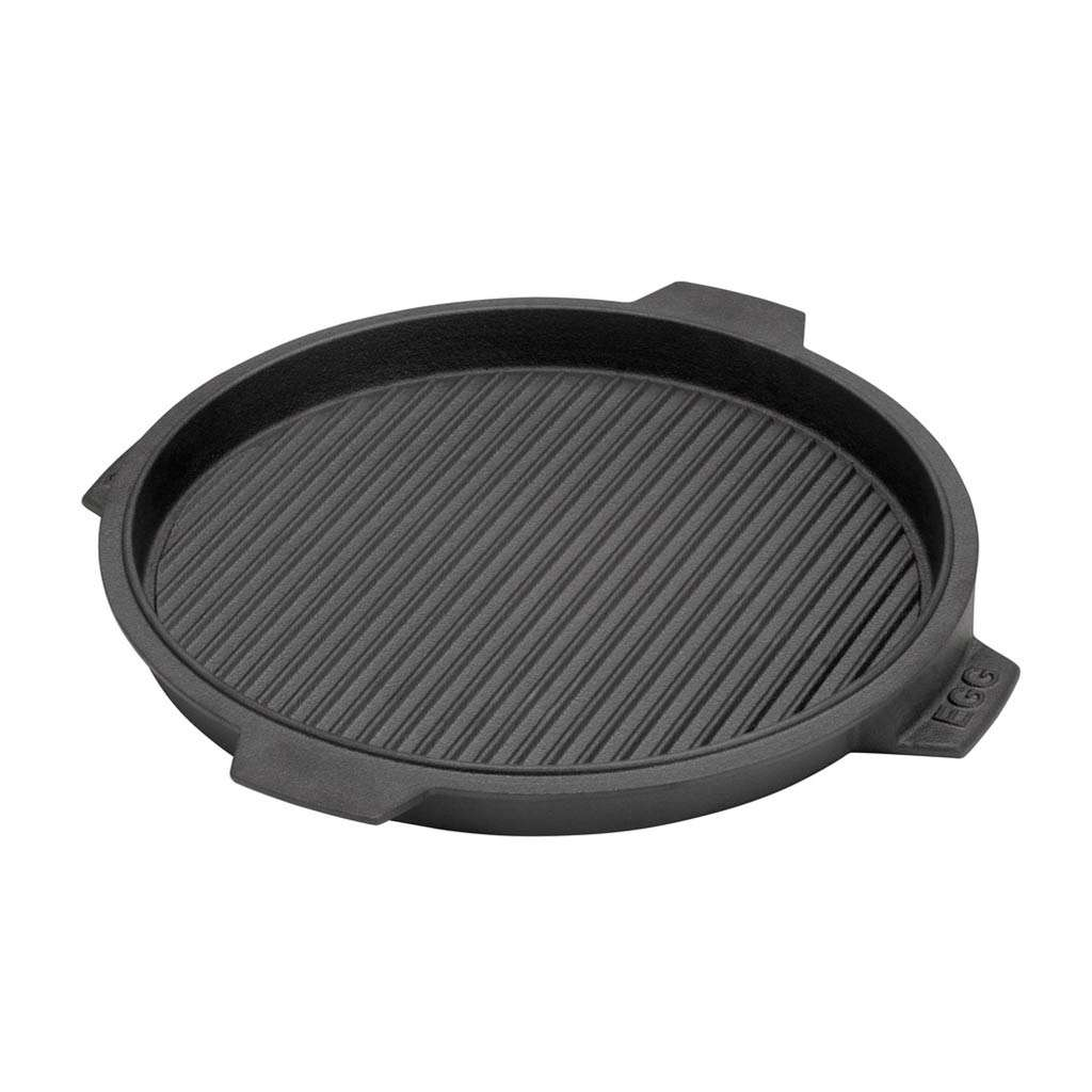 Grillplatte aus Gusseisen Big Green Egg MiniMax, Mini, Small, Medium